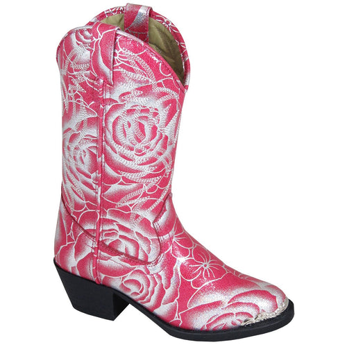 Smoky Mountain Girl's Children's Lexie Rose Cowboy Boot