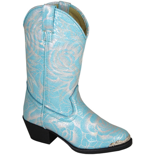 Smoky Mountain Girl's Toddler Lexie Turquoise Cowboy Boot