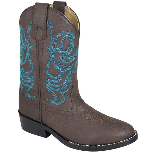 Smoky Mountain Youth Montery Brown Cowboy Boot