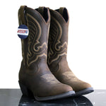 TN Boot Co. Women's Distress Tan Western