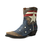 Redneck Riviera Women's Shortie Freedom Boot - Vintage Cinnamon