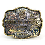 2019 92nd Annual National FFA Convention Belt Buckle - Sterling Silver