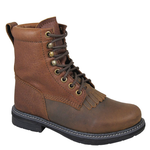 Smoky Mountain Youth Brown Distress/Brown Lace Up
