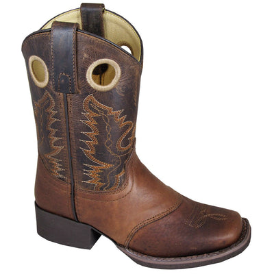 Smoky Mountain Brown Embossed/Brown Distress Boot