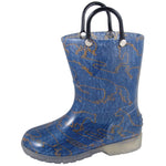 Smoky Mountain Toddler Starlight Denim Blue Pvc Boot