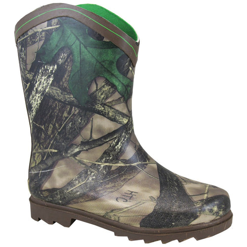 Smoky Mountain Youth Camo Rubber Boot