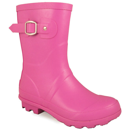 Smoky Mountain Girl's Children's Pink Rubber Boot