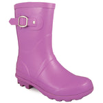 Smoky Mountain Girl's Toddler Purple Rubber Boot