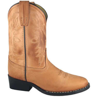 Smoky Mountain Toddler Tan Western Boot