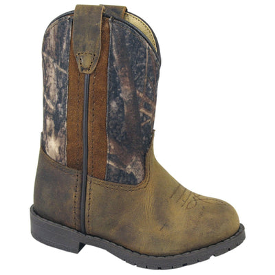 Smoky Mountain Toddler Camo/ Brown Distress Boot