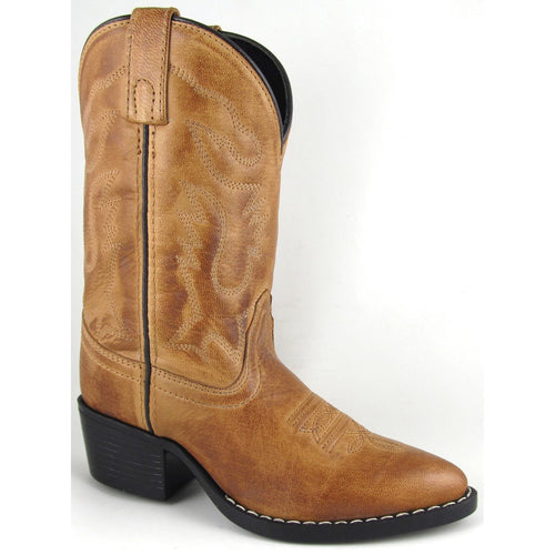 Smoky Mountain Children's Bomber Tan Western Boot