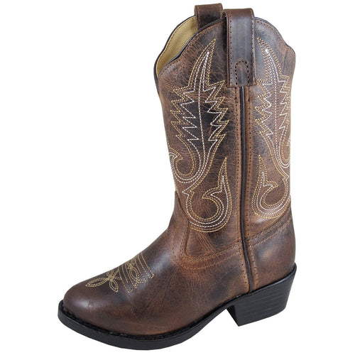 Smoky Mountain Youth Annie Brown Cowboy Boot