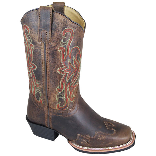 Smoky Mountain Youth Rialto Brown Cowboy Boot