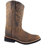 Smoky Mountain Youth Pueblo Dark Crazy Horse Cowboy Boot