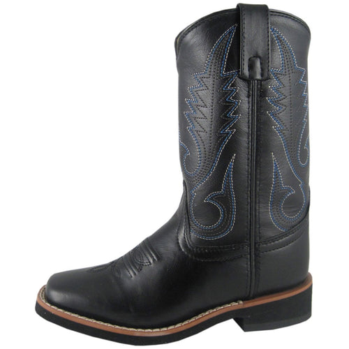 Smoky Mountain Youth Judge Black Cowboy Boot
