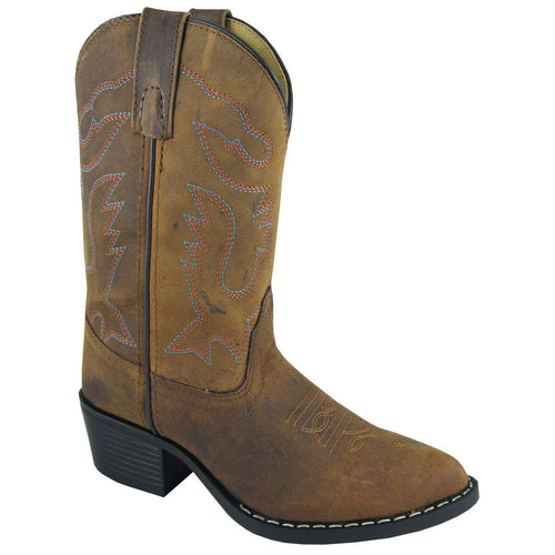Smoky Mountain Children's Dakota Brown Cowboy Boot