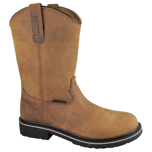 Smoky Mountain Youth Scottsdale Brown Waterproof Boot