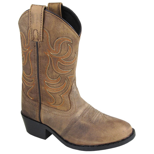 Smoky Mountain Youth Otis Tan Cowboy Boot