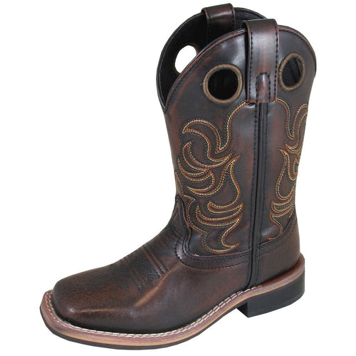Smoky Mountain Youth Landry Chocolate Brush Off Cowboy Boot
