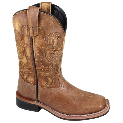 Smoky Mountain Youth Leroy Tan Cowboy Boot