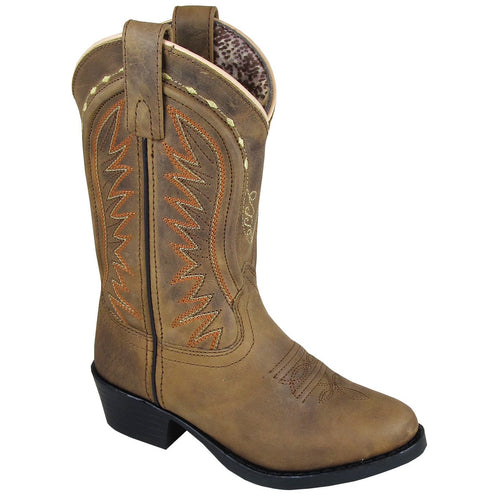 Smoky Mountain Girl's Children's Sienna Tan Cowboy Boot