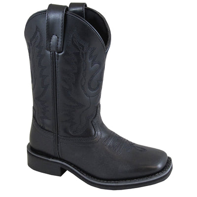 Smoky Mountain Children's Outlaw Black Cowboy Boot