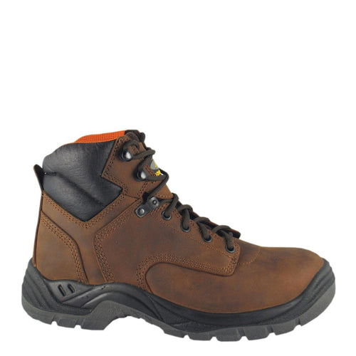 Smoky Mountain Men's Brown Waterproof Work Shoe W/Steel Toe
