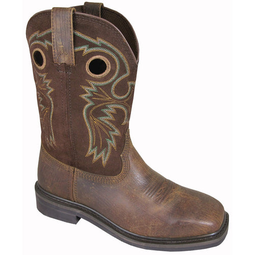 Smoky Mountain Men's Brown Square Toe Boot