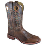 "Smoky Mountain Men's Blake 11"" Bomber Tan/Brown Cowboy Boot"