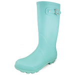 "Smoky Mountain Women's 13"" Turquoise Rubber Boot"