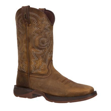 Durango Men's Rebel Comfortable Pull-On Western Boot