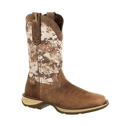Durango Men's Desert Camo Pull-on Western Boot