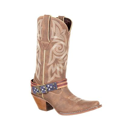 Durango Women's Crush Flag Accessory Western Boot