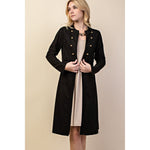 Vocal Women's Cardigan Jacket - Black