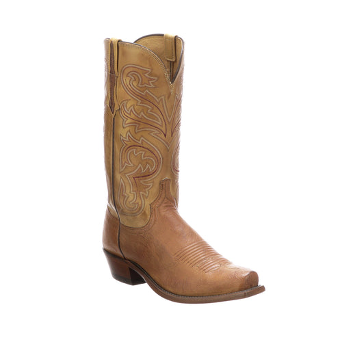 Lucchese Men's Nathan Boot - Barnwood