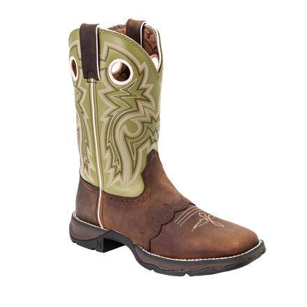 Durango Women's Lady Rebel Meadow n' Lace Saddle Western Boot