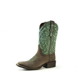 Redneck Riviera Women's Square Toe Boot – Turquoise/Brown - French's Boots