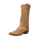 Redneck Riviera Women's Western Snip Toe Boot - Mad Cat Golden