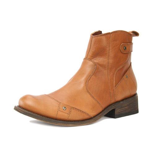 Redneck Riviera Men's Ankle Zipper Boot - Lyon Brandy
