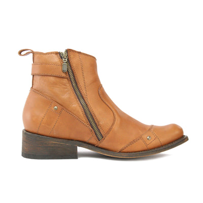 Redneck Riviera Men's Ankle Zipper Boot - Lyon Brandy - French's Boots