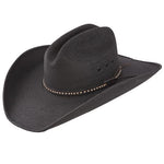 Resistol Men's Jason Aldean Asphalt Cowboy Straw Hat - Black