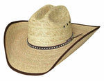 Bullhide Wide Open 15X Palm Leaf Cowboy Hat