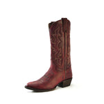 Redneck Riviera Women's Western R-Toe Boot - Distressed Red