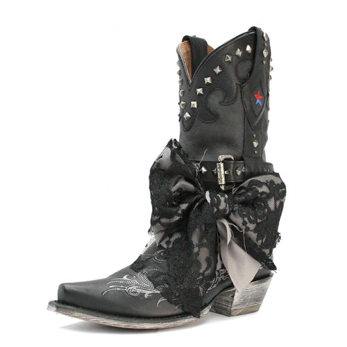 Redneck Riviera Women's Lace Boot - Black