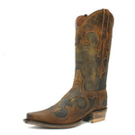 Redneck Riviera Men's Mad Cat Tan Snip Toe Boot