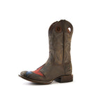 Redneck Riviera Men's Star Cowboy Boot – Brown - French's Boots