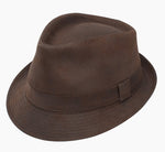 Dobbs Men's Urban 67 Fedora - Brown