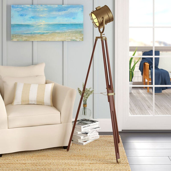 "Carla Cinema Studio 70"" Tripod Floor Lamp"