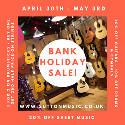 Bank Holiday Sale!