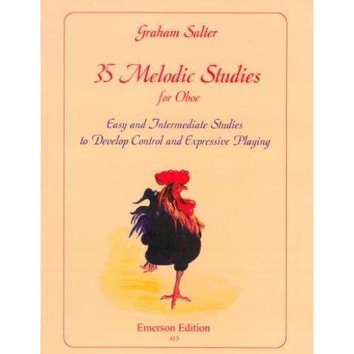 35 Melodic Studies (for Oboe)